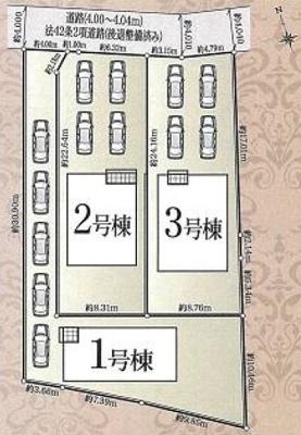 【区画図】浜北区西美薗 第3 AR