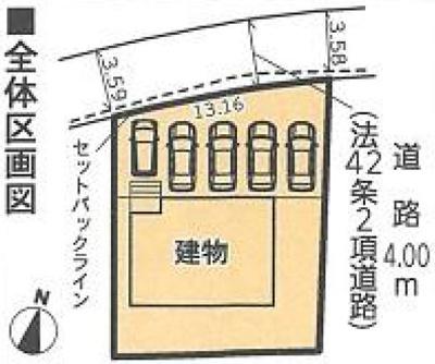 【区画図】東区安新町 第2 AR