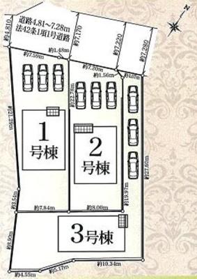 【区画図】東区材木町 第1 AR