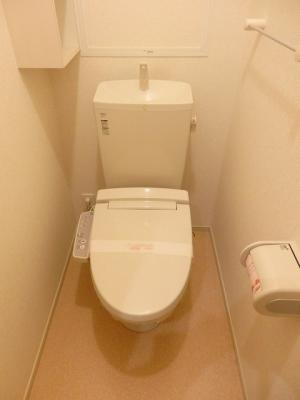 【トイレ】クレストールローゼⅢ