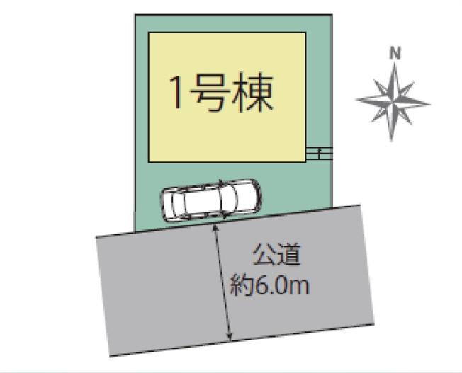 【区画図】練馬区南大泉2丁目 新築一戸建 西武新宿線 東伏見