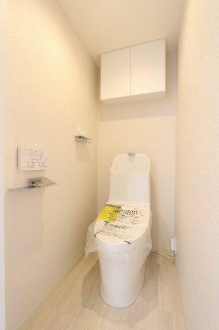 ゆったりとした空間のトイレです:リフォーム完了しました♪平日も内覧出来ます♪