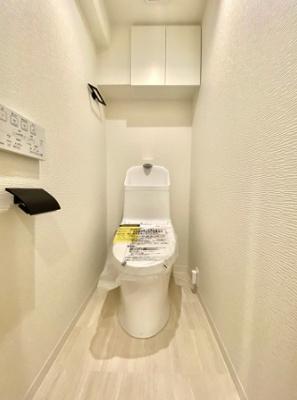 大森ハイツのトイレです。