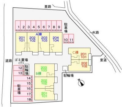 【区画図】ジェルメ 47 A