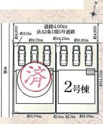 【区画図】東区和田町 第2 AR