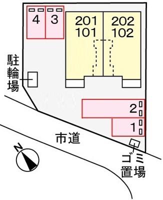 【区画図】アニメートミササ