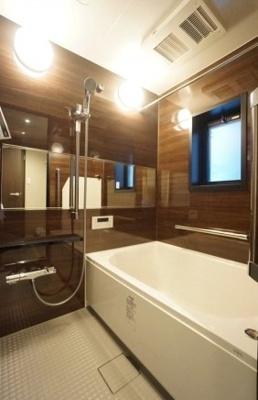 藤和シティコープ御徒町のお風呂です。
