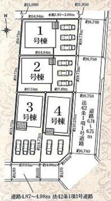 【区画図】東区北島町 第4 AR