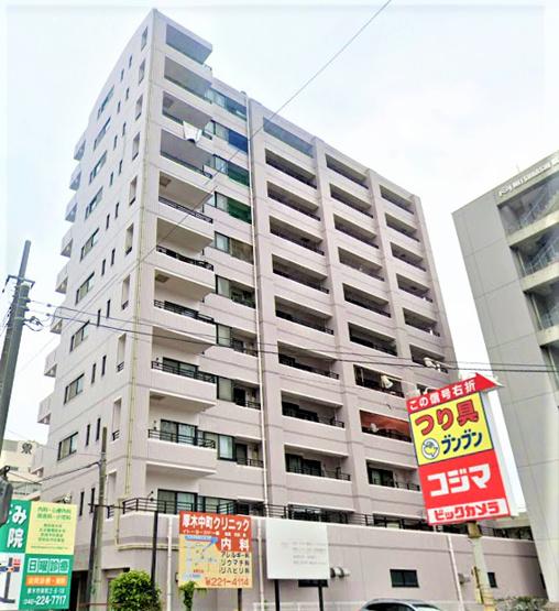 【外観】プレール本厚木弐番館