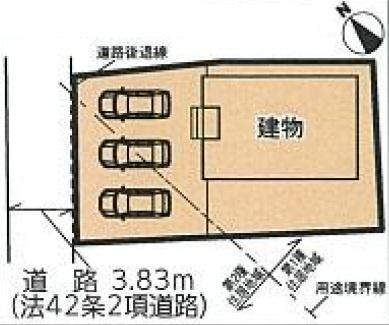 【区画図】南区三島町 第4 AR