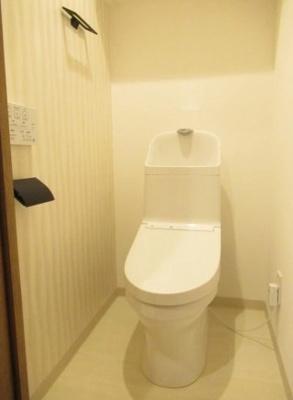 エンゼルハイム西大島のトイレです。