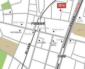 【地図】メゾン・ド・レ・セナ