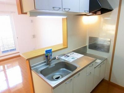 【キッチン】若葉グリーンハイツⅡ