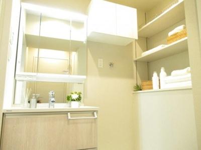 ライオンズプラザ浅草第2の洗面台です。