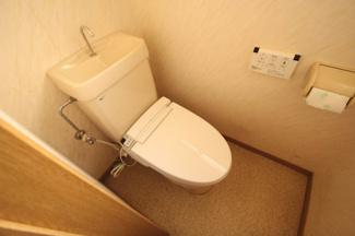 【トイレ】毛呂山町若山 中古住宅
