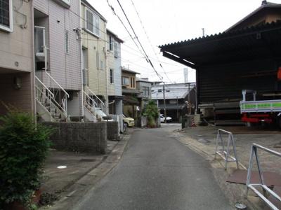 【前面道路含む現地写真】大枝塚原町一戸建
