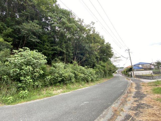東側道路から北面