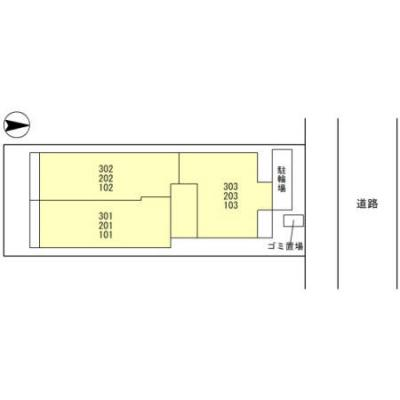 【区画図】ローズコート西宮北口