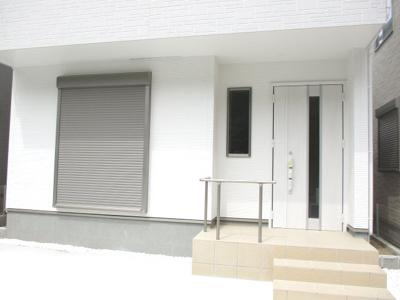 【玄関】神戸市垂水区学が丘4丁目新築戸建 2号棟