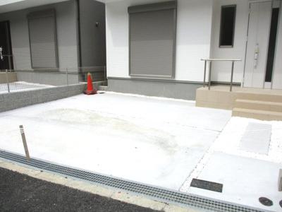 【駐車場】神戸市垂水区学が丘4丁目新築戸建 2号棟