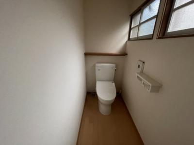 ゆったりとしたトイレです シンプルで使いやすいです