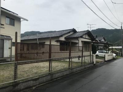 【前面道路含む現地写真】那珂川市大字山田 平家