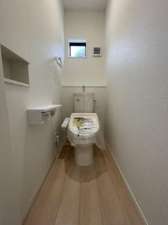 【トイレ】市原市惣社3丁目 新築戸建 JR内房線「五井駅」