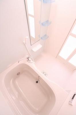 【浴室】メゾン アンソレイエⅢ