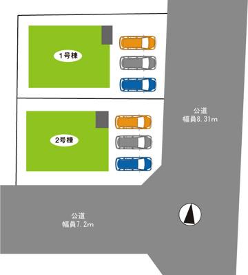 三木市志染町中自由が丘2丁目第7 新築一戸建て 2021/9/12現地撮影