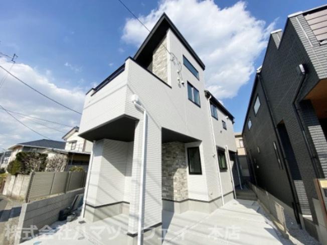 【区画図】大倉山徒歩7分 新築戸建て