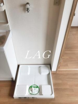 室内洗濯機置場になります。