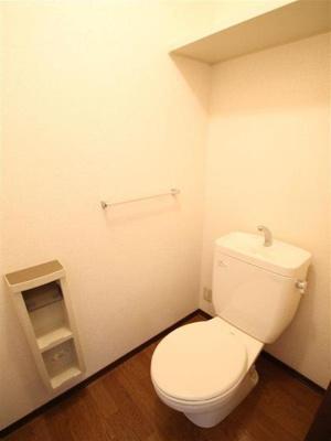 清潔感のあトイレ