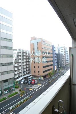 お部屋からの眺めです