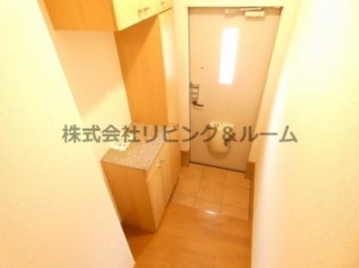 【玄関】デルソーレ・B棟