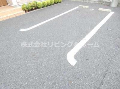 【駐車場】デルソーレ・B棟