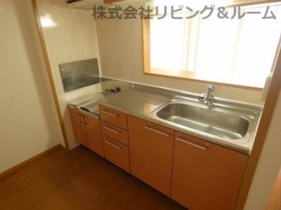 【キッチン】デルソーレ・B棟