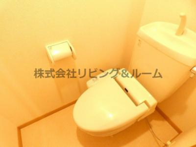 【トイレ】デルソーレ・B棟