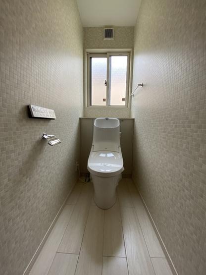 【トイレ】中古戸建 守谷市松並青葉2丁目 築浅住宅