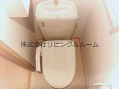 【トイレ】ウナ カーサ デラ ルーチェ・Ⅰ棟
