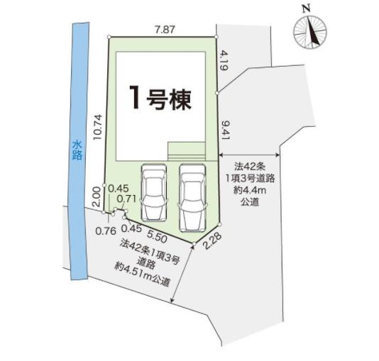 【区画図】野市町西野