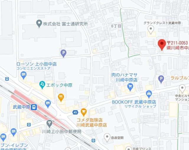 【地図】コーポサンライズ