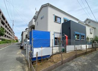 【外観】横浜市鶴見区下末吉5丁目 借地権付新築戸建