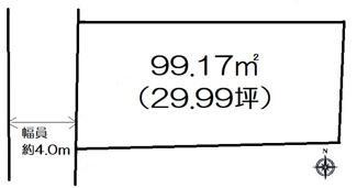【土地図】高崎市江木町売地
