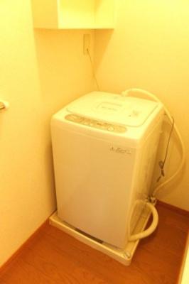 洗濯機付きで引越しラクラク♪