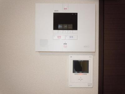 モニター付インターホンとホームセキュリティで安全安心!!