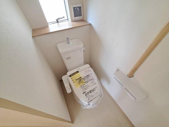 【トイレ】水戸市渡里町新築2期 2号棟