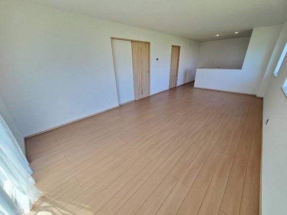 【居間・リビング】水戸市渡里町新築2期 2号棟