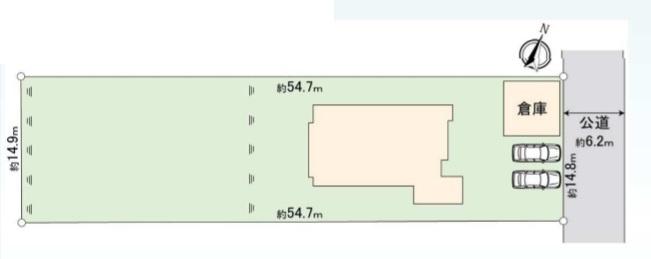 【区画図】日高市旭ヶ丘・中古戸建