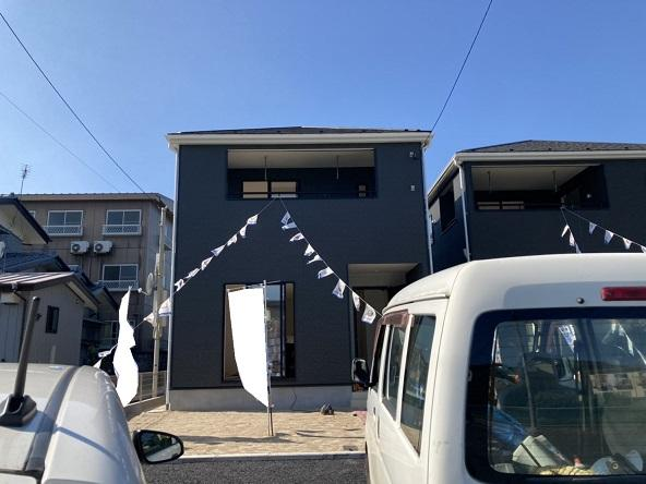 【前面道路含む現地写真】水戸市姫子新築第4/1号棟