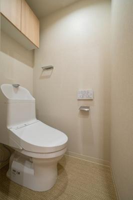 【トイレ】クリオ両国壱番館 2000年築 角 部屋 リ ノベーション済